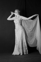 Belly Dancing Costume in Infrared by DanikaMilles