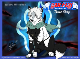 WolfCh Time Skip: Toshiro Hitsugaya by Chibi-Cola-SkyWolf62