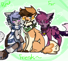 | !Best Fur Friends! | by snickIett
