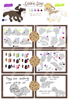 Cookie Dogs Closed Species Reference Sheet by cvmshot