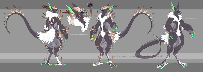 comm - grem2 ref for Cynerik by CoryKatze