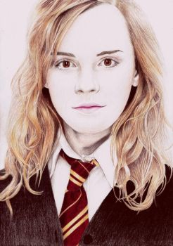 Hermione Granger by aster1210