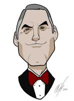 George Clooney toon by Kryptoniano