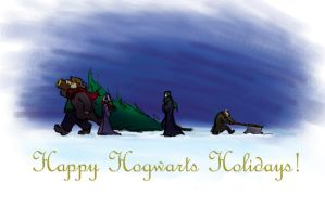Happy Hogwarts Holidays by Murielle