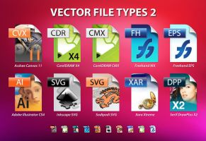 Vector File Types for vista by roberlan