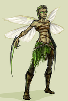 Mantis Fairy by shaydh