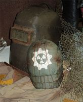 Wasteland Shoulder Guard by DirtyandDistressed