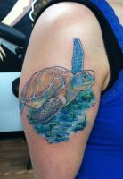 And then, there was a Sea Turtle by adammdesigns