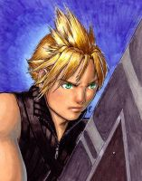Fifth Act Cloud Strife by Obi-quiet
