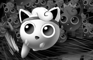 SSBM jigglypuff digital sketch + Need Feedback by danimation2001