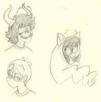 Homestuck sketches by faster-by-choice
