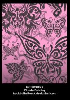 butterflies 2 brushes by isuckbuthellirock