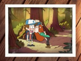 Dipper and Wendy by WhitneyFrost