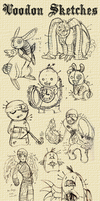 Voodon Sketches Collection by ghlow