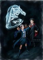 Point Commission:  Expecto Patronum! by jen-and-kris