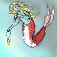 Mermaid by caspisan