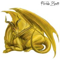 Dragon Auro by FlorindaZanetti