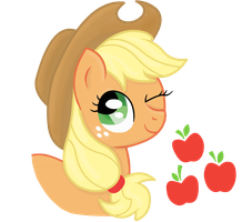 Applejack by Cloudy-Dreamscape