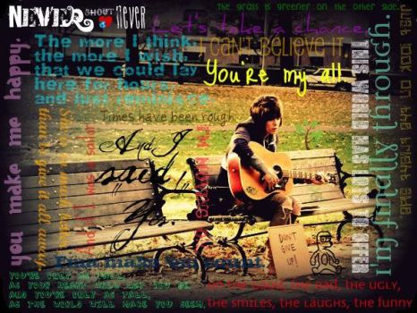 NeverShoutNever edit. :D by Tushies