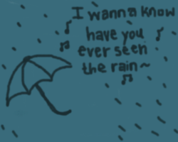 ever see the rain? by navii16