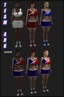 TeamARK Patriotic Outfits by grico316