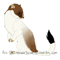 Jack the Stoat by InnocentDrive