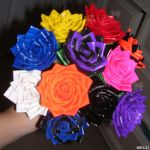 DUCT TAPE ROSE BOUQUET by GreekGoddess1903