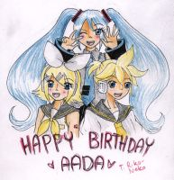Happy Birthday Aada by CandySkitty