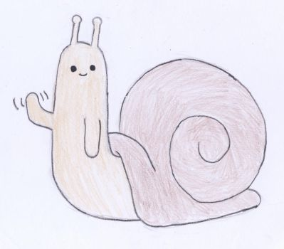 Snail by UNoWhatItIs