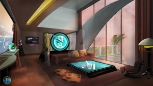 Mars Hotel Penthouse by FranklinChan