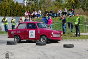 Trabant 601 - Campus Cup in Gyor, 2013.. by morpheus880223