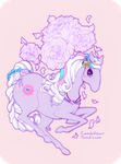 Cotton Candy Cloud Dancer by zambicandy