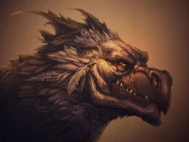 Husk Head by GeniusFetus