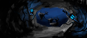 Platforms concept art : The Nightmare Game Project by GFITHER