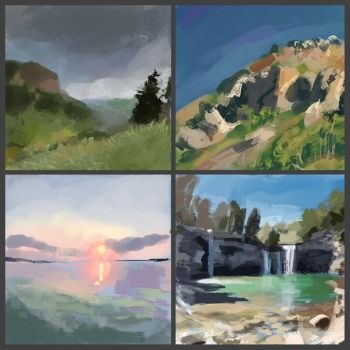 studies by dreamin-Lea