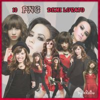 PNGs of Demi Lovato by KrisPS