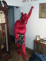 the red suit by Rathkin