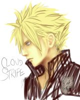 Cloud Strife Wip2 by naisei