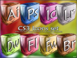 CS3 Icons set replacement by Kavel-WB