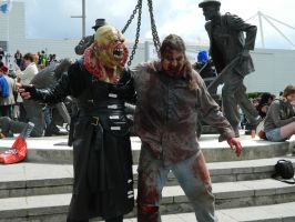 Nemesis and Zombie walk into a ... by MJ-Cosplay