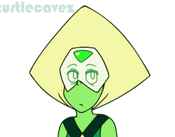 Peridot Blows a Kiss (Animated) by TurtleCavez