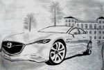 Mazda by naveen11986