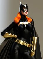 Batgirl : Barbara Gordon by KRThompsonART
