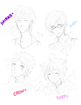 In which I miss all my babies.. by honey-ouji