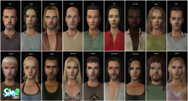 My LOST Sims by pbwriter