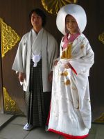 Japanese Wedding by JeanneABeck