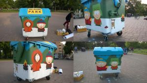 South Park Bin by Burgi687