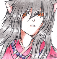 Colored Inuyasha by Kitty-Vamp