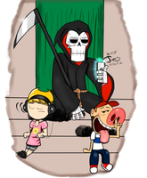 Billy and Mandy by DinomanInc