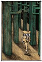 The secret of the Escher forest by pixie-on-mushroom